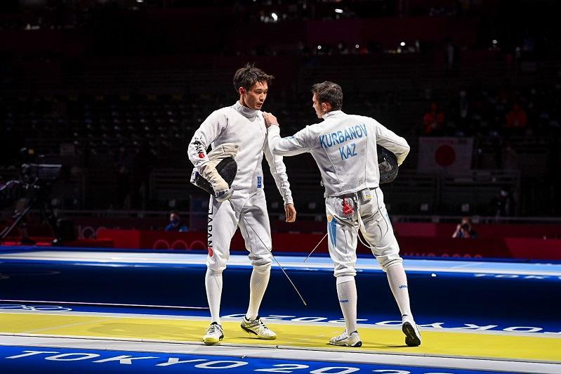 Kazakhstan's Kurbanov out of Tokyo Olympics Men's Epee event