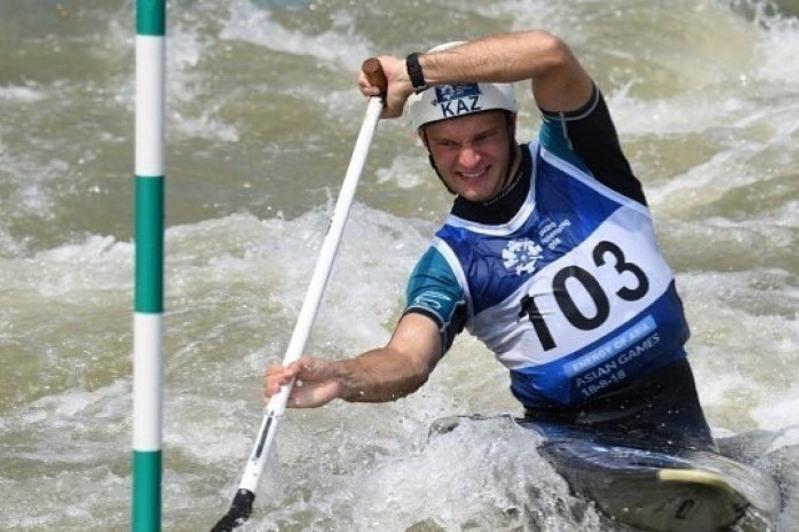 Kazakhstani canoeist eases into Tokyo Olympics Canoe Slalom semis