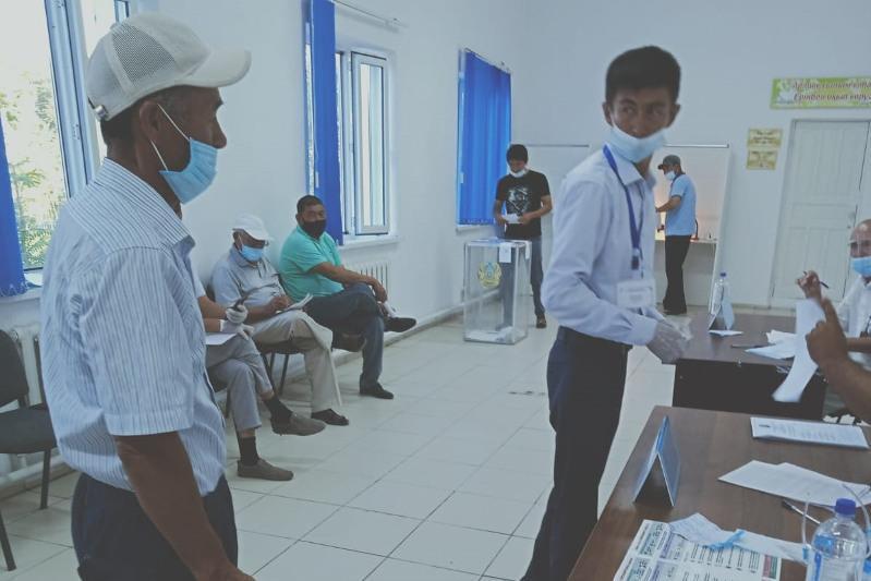 В Кызылординской области проголосовали более 48% избирателей