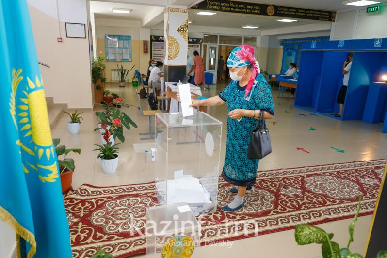 Более 117 тысяч человек проголосовали в Алматинской области