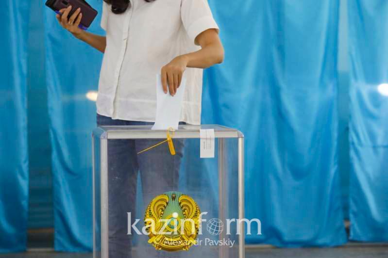 Павлодар облысында сайлаушылардың 55% өз таңдауын жасады
