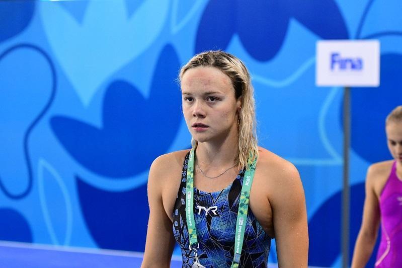 Kazakhstani swimmer fails to reach Tokyo Olympics semis