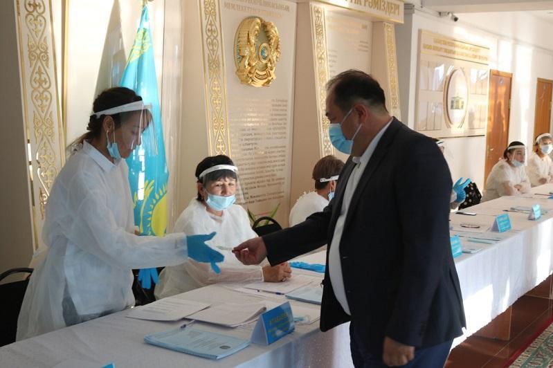 Более 77% кордайцев в Жамбылской области уже получили избирательные бюллетени