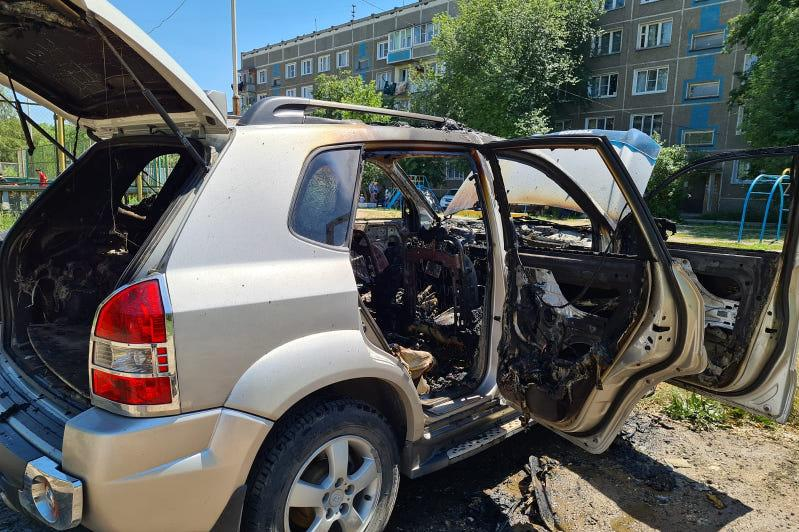 Как несоблюдение правил пожарной безопасности приводит к потере авто в огне