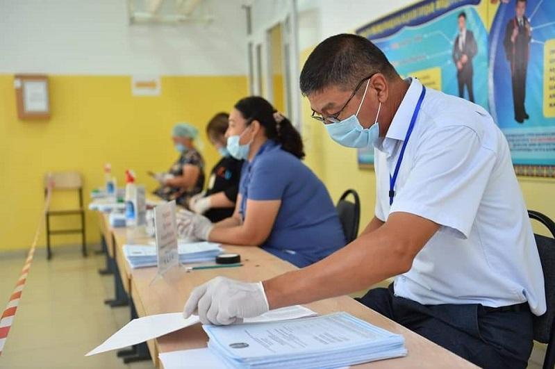 64% избирателей проголосовали на выборах сельских акимов в Туркестанской области