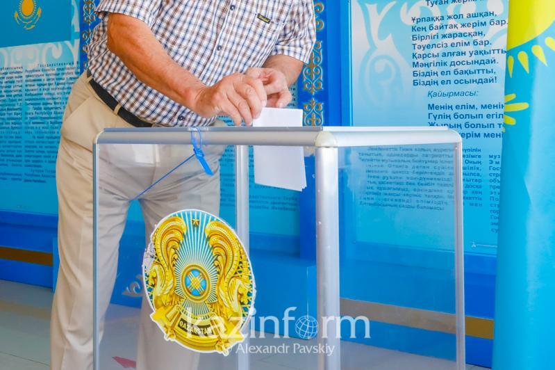 90% жителей одного из районов Алматинской области проголосовали на выборах сельских акимов