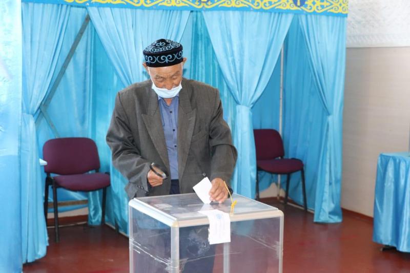 Более 83% кордайцев в Жамбылской области получили избирательные бюллетени