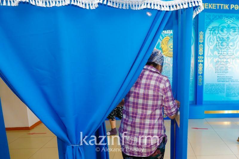 Бюллетени получили 73,8 % избирателейна выборахв Атырауской области