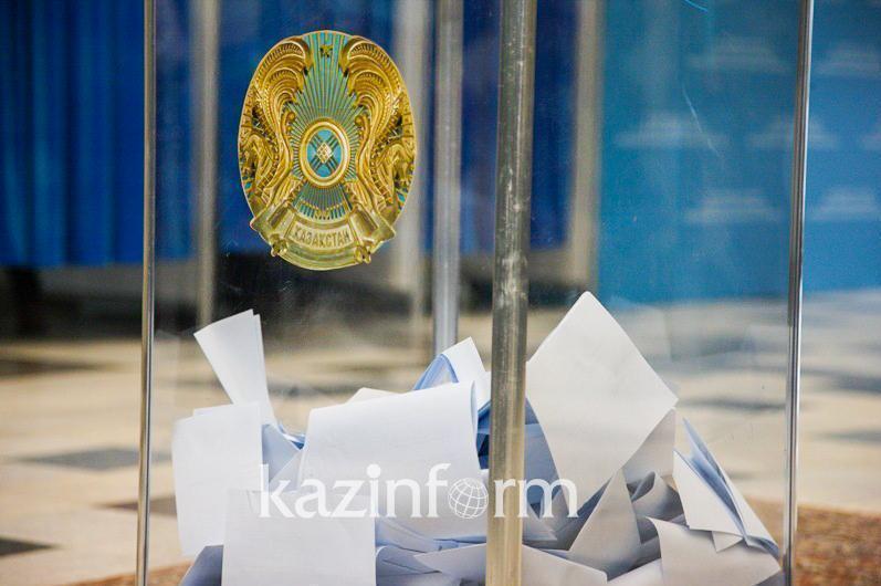 101-летний избиратель проголосовал на выборахсельских акимов в Жамбылской области