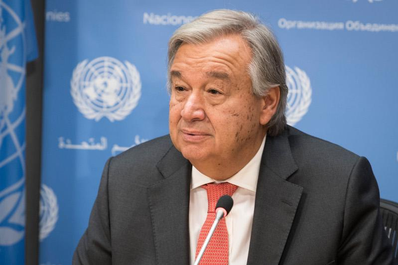 UN chief calls for leadership of G20 on climate action
