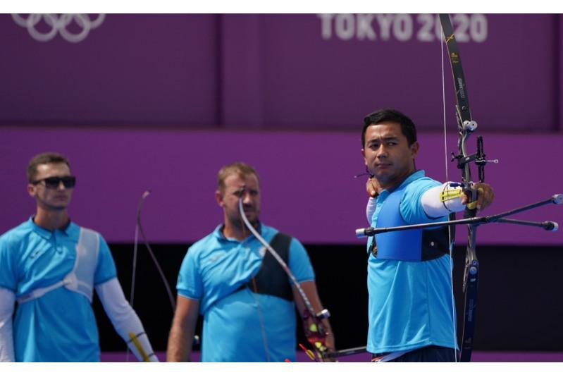Kazakhstani male archers fail to advance at Olympic Games in Tokyo
