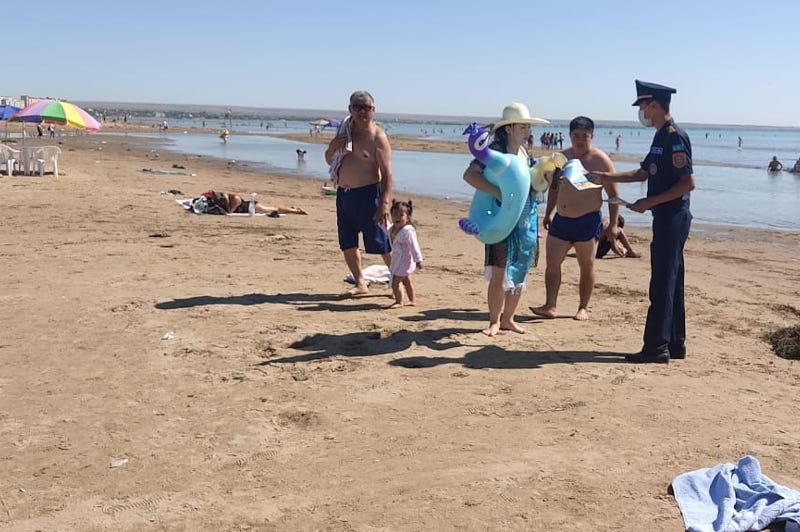 Спасатели нашли четверых потерявшихся детей на берегу Капшагая