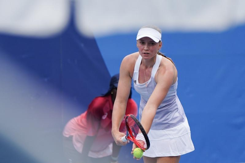 Rybakina of Kazakhstan reaches 3rd round of tennis event at Olympics