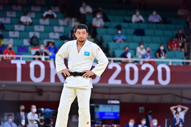 Дзюдоист Смагулов проиграл канадцу и завершил выступление на Олимпиаде-2020