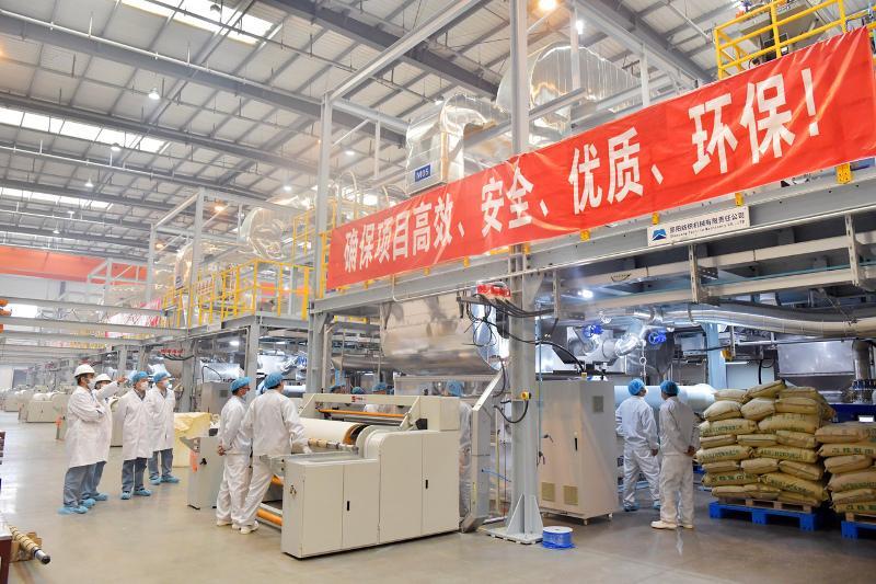 Sinopec builds world's largest disinfectant production base