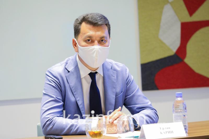 Ерлан Карин: Мы увидели большую заинтересованность в прошедших выборах акимов