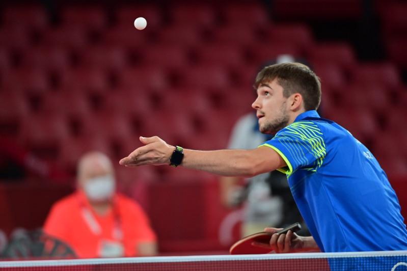 东京奥运乒乓球:哈萨克斯坦选手未能晋级