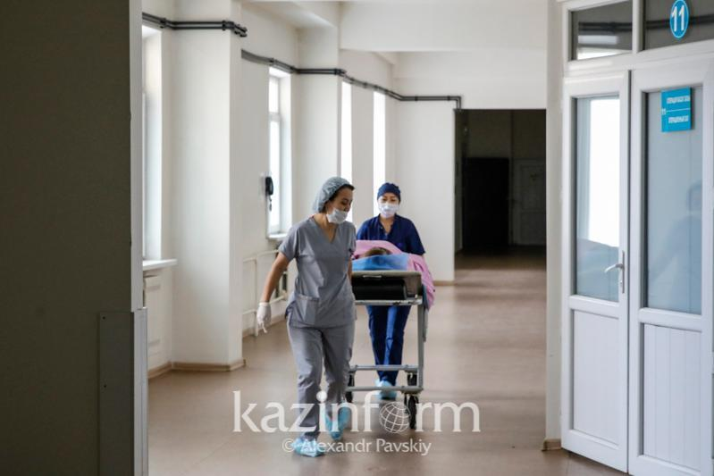 Nearly 4 thou people under hospital treatment in Almaty city
