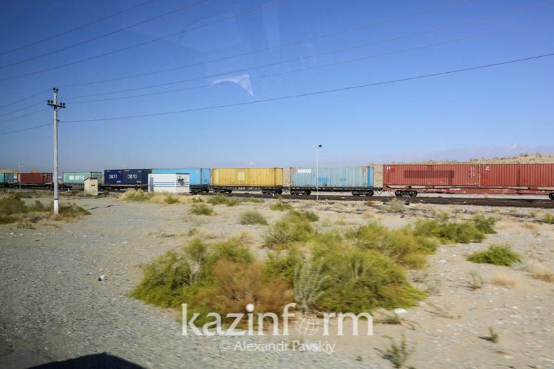 Rail transit traffic up 32% in Kazakhstan
