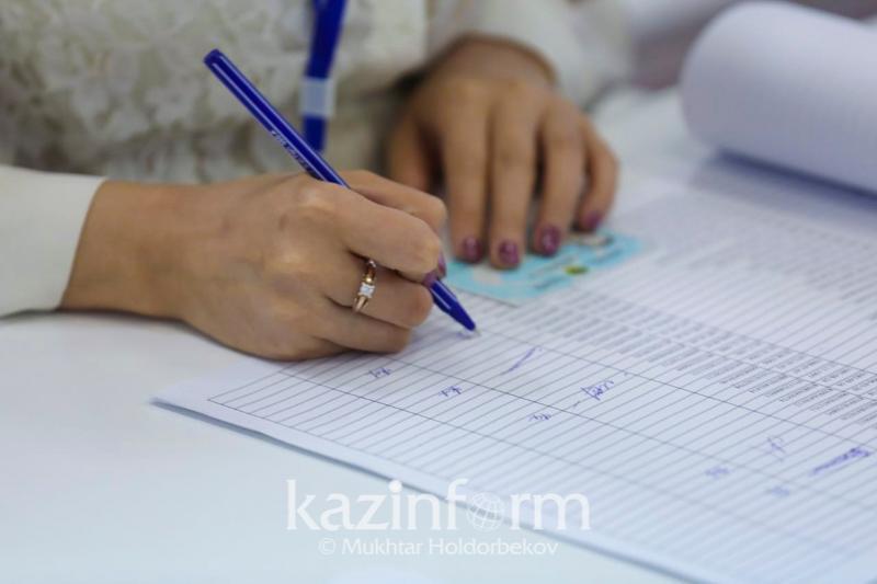Итоги выборов сельских акимов подвели в Алматинской области