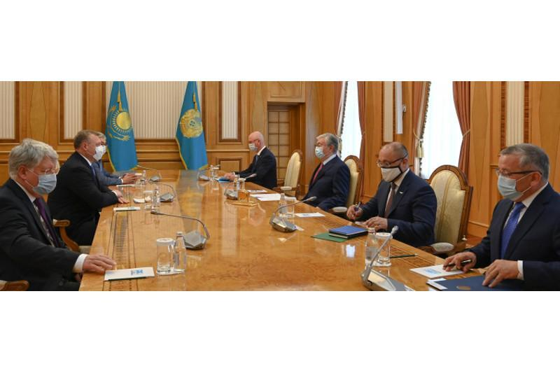 President Tokayev receives governor of Astrakhan Region