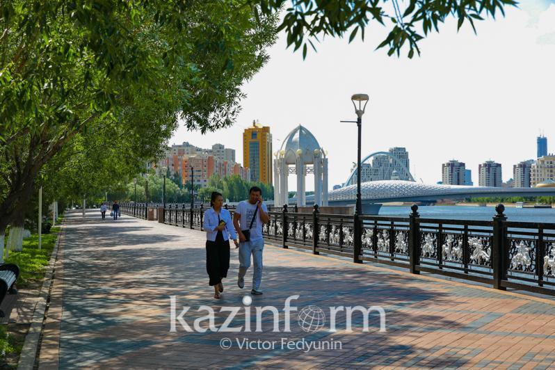No precipitation forecast for Kazakhstan July 27