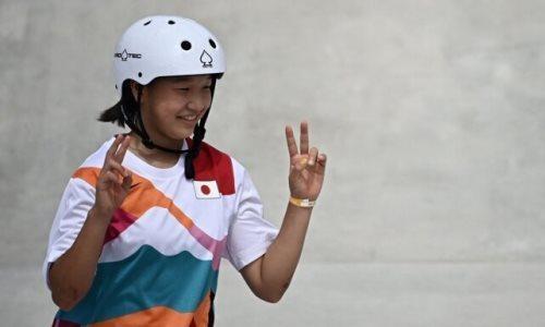 13 ёшли Момиджи Нишия - Олимпиада тарихидаги иккинчи энг ёш чемпион