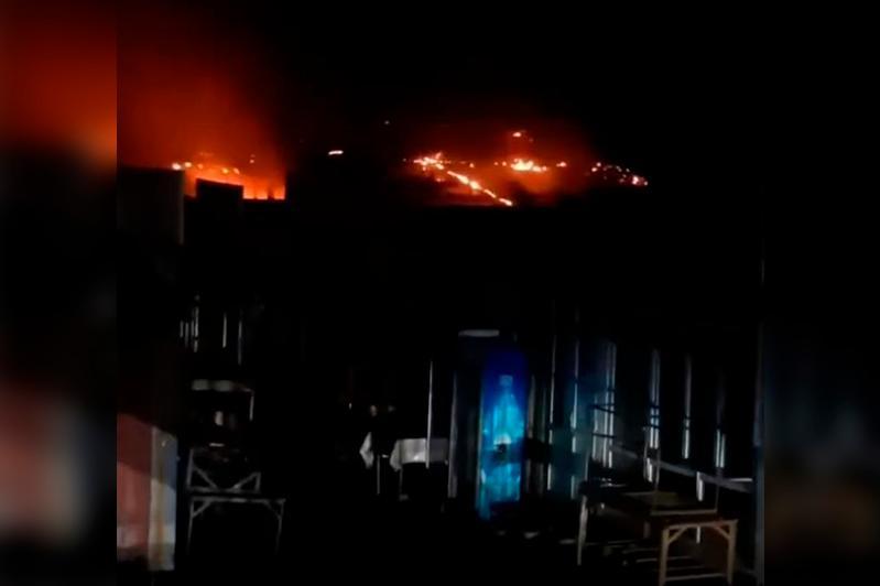 Пожарные Алматы предотвратили взрыв на территории рынка «Барлык»