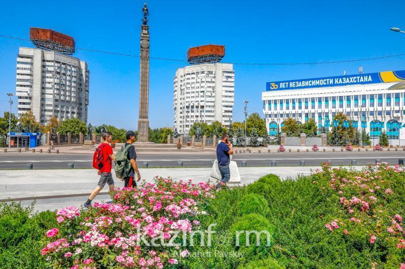 疫情形势:全国仅有突厥斯坦州一地处于黄区