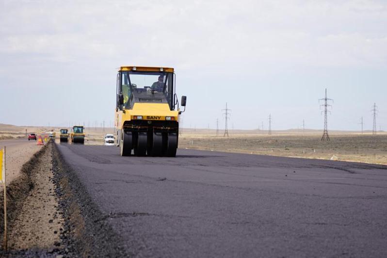 2023 jyly Jambyl oblysynda avtojoldyń 95 paıyzy asfalt bolady