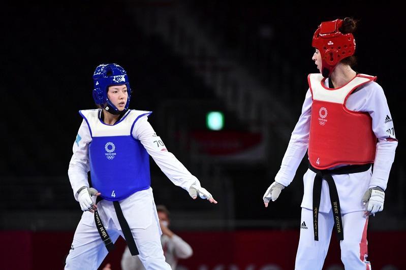 Казахстанская таэквондистка проиграла в четвертьфинале Олимпиады-2020