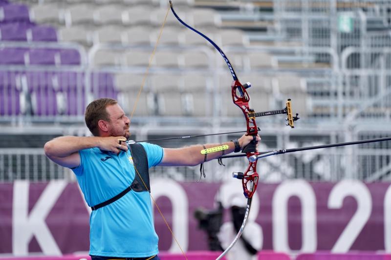 Kazakhstani archer Denis Gankin defeated by Italian Mauro Nespoli at Tokyo Olympics
