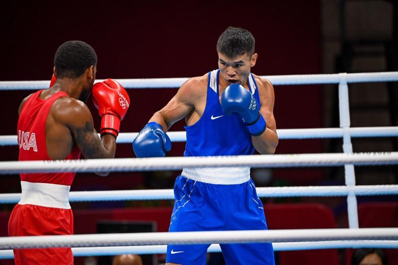 Kazakh boxer loses in Tokyo Olympics Round of 16