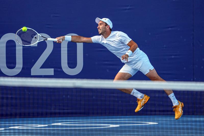 Tennis player Kukushkin of Kazakhstan ends his Tokyo Olympics run