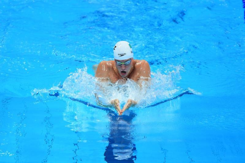 Дмитрий Баландин 200 метрге брасс әдісімен жүзуде жартылай финалға шықты