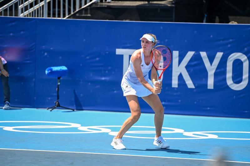 Теннисистка Елена Рыбакина вышла в 1/4 финала Олимпийских игр