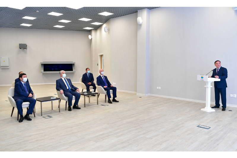 Главе государства представили инвестиционные проекты Акмолинской области