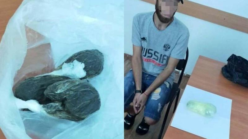 Наркотики пытались перебросить в колонию Уральска