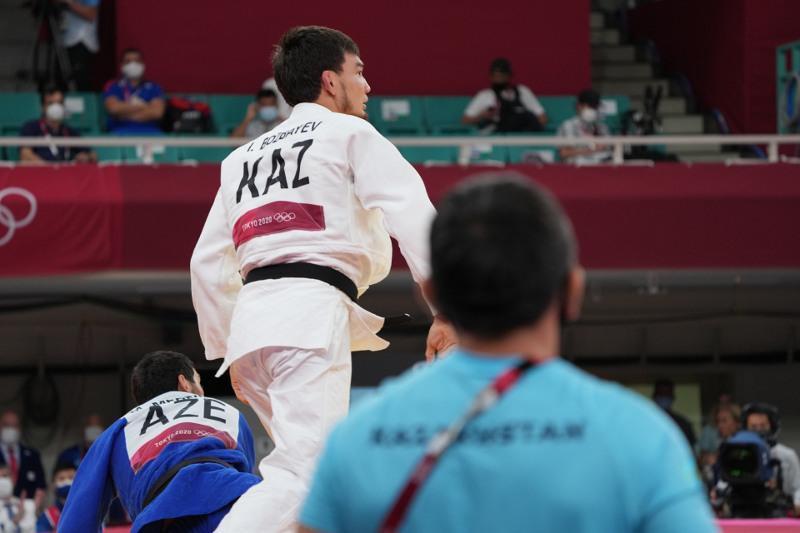 Kazakhstani judoka Islam Bozbayev wins 1st bout at Olympics
