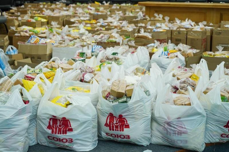 Марафон добрых дел: более 2500 семей Акмолинской области получили продуктовые корзины