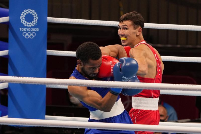 东京奥运拳击:哈萨克斯坦选手遗憾出局