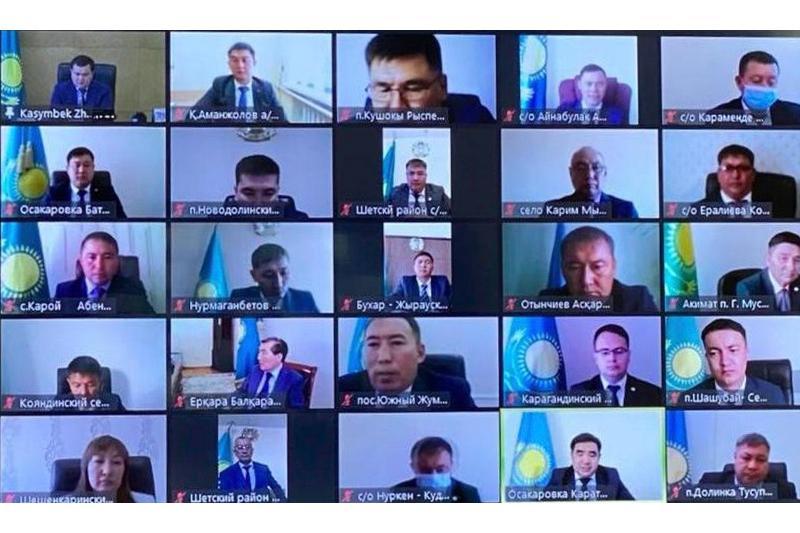 75 избранных акимов вступили в должность в Карагандинской области