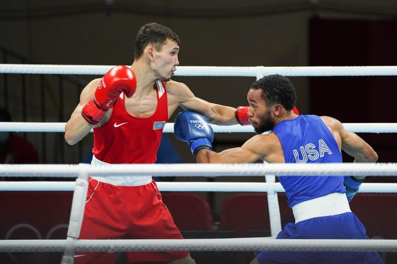 Two Kazakhstani boxers defeated in Tokyo Olympics Round of 16