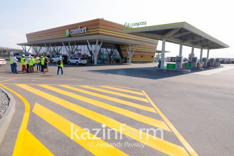 Современные придорожные комплексы появляются на дорогах Казахстана