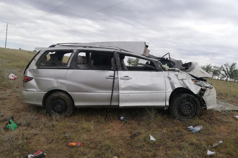 Восемь иностранцев госпитализированы после аварии в Актюбинской области