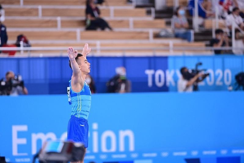 Токио-2020: Гимнаст Милад Карими көпсайыс финалында 14-орын алды