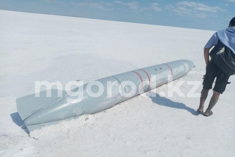 Шестиметровый авиационный снаряд нашли в ЗКО