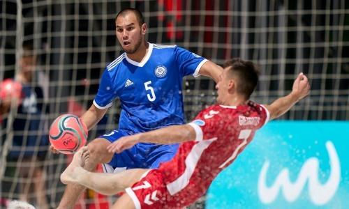 Сборная Казахстана по пляжному футболу стартовала с победы в Евролиге-2021