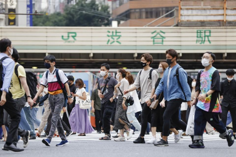 Жапонияда күнделікті COVID-19 жұқтырғандар саны алғаш рет 9 мыңнан асты