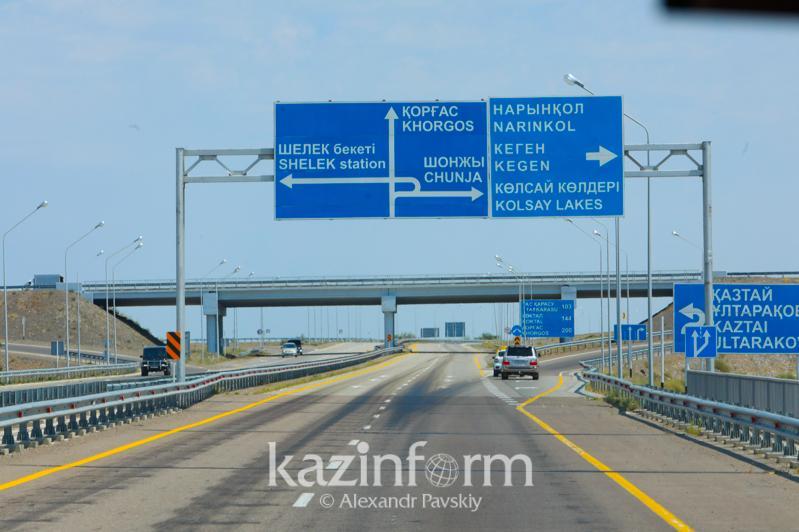 Названы основные причины поднятия бетонных плит на трассе Алматы - Хоргос